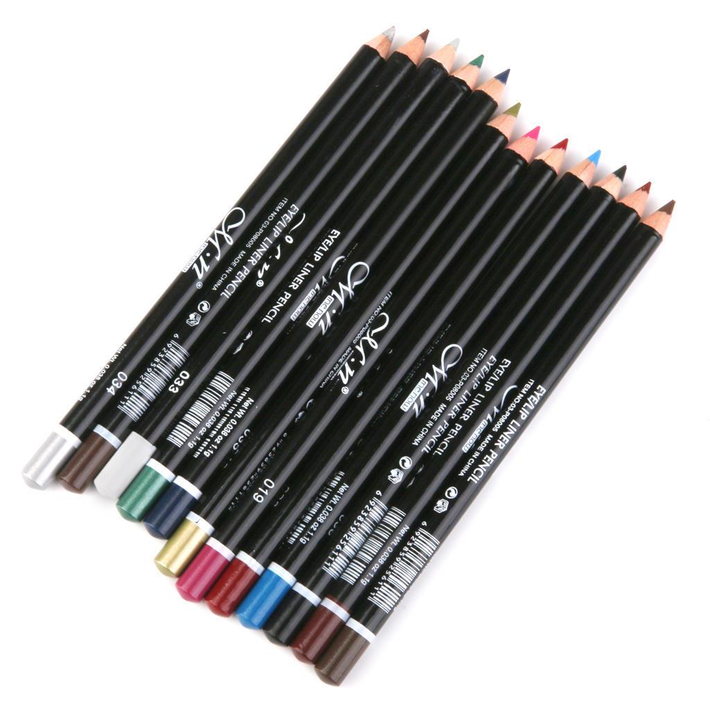 Как сделать макияж глаз цветными карандашами - m 28