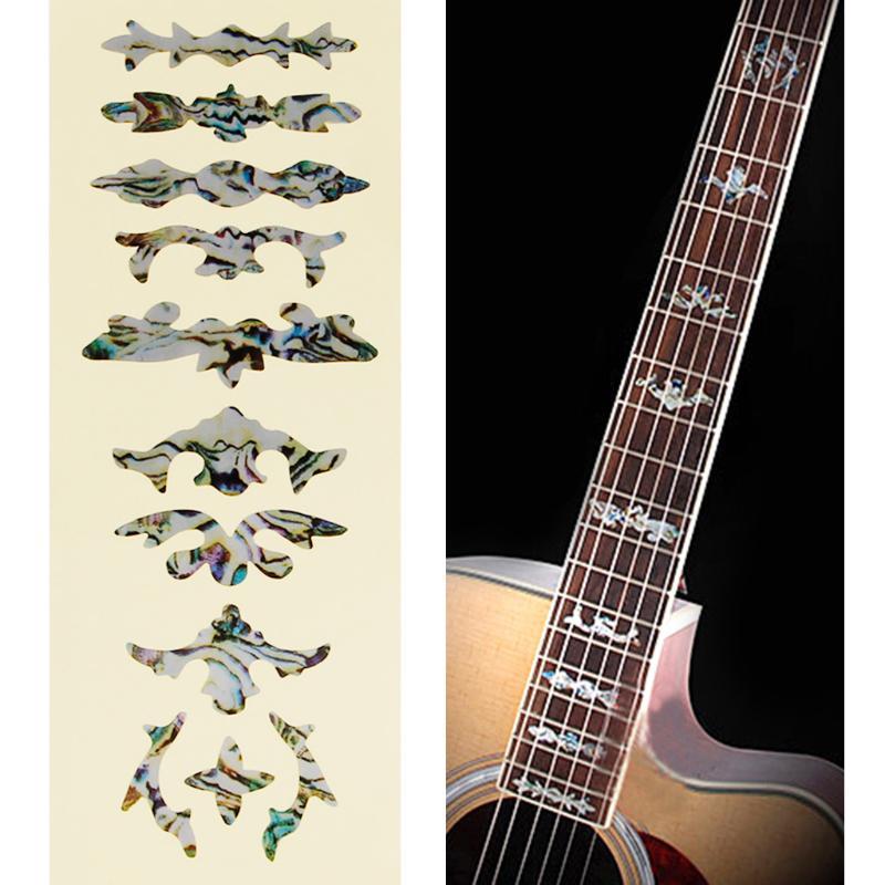 Надпись на грифе гитары своими руками 75