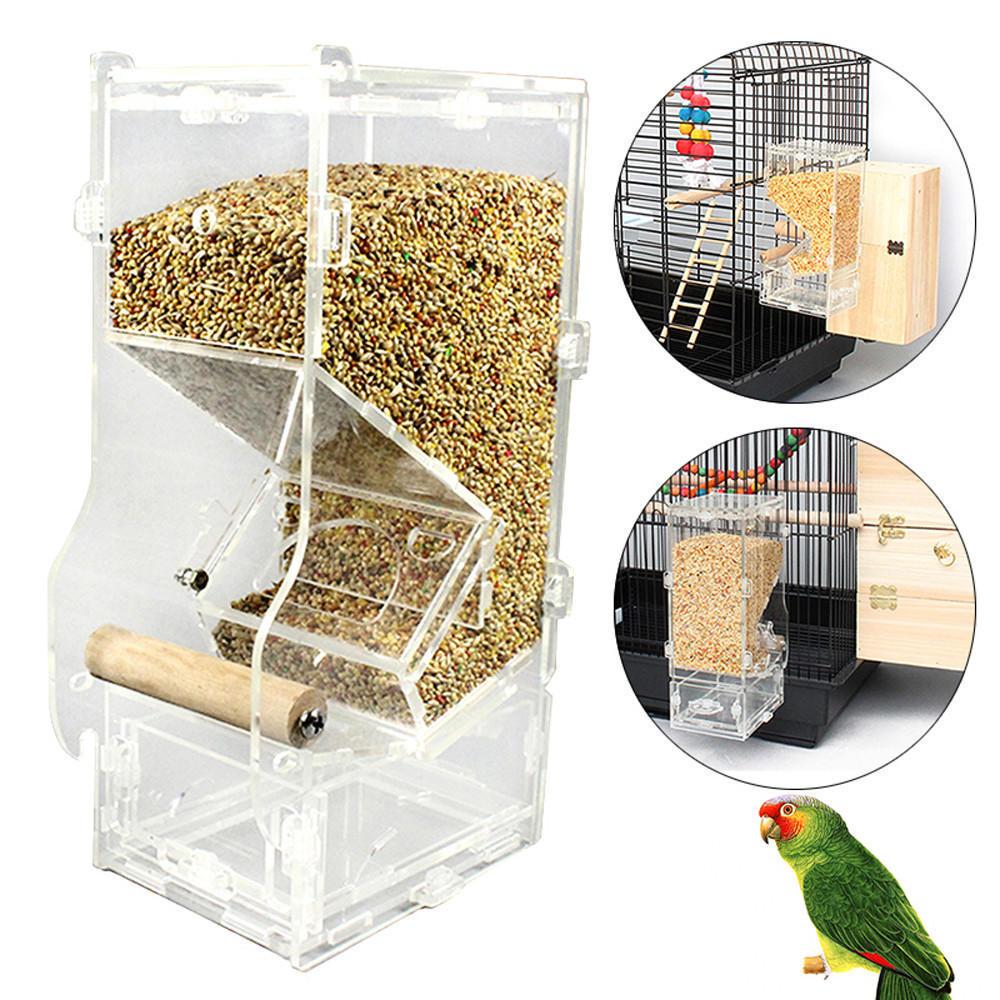 49 Автоматическая кормушка для попугаев