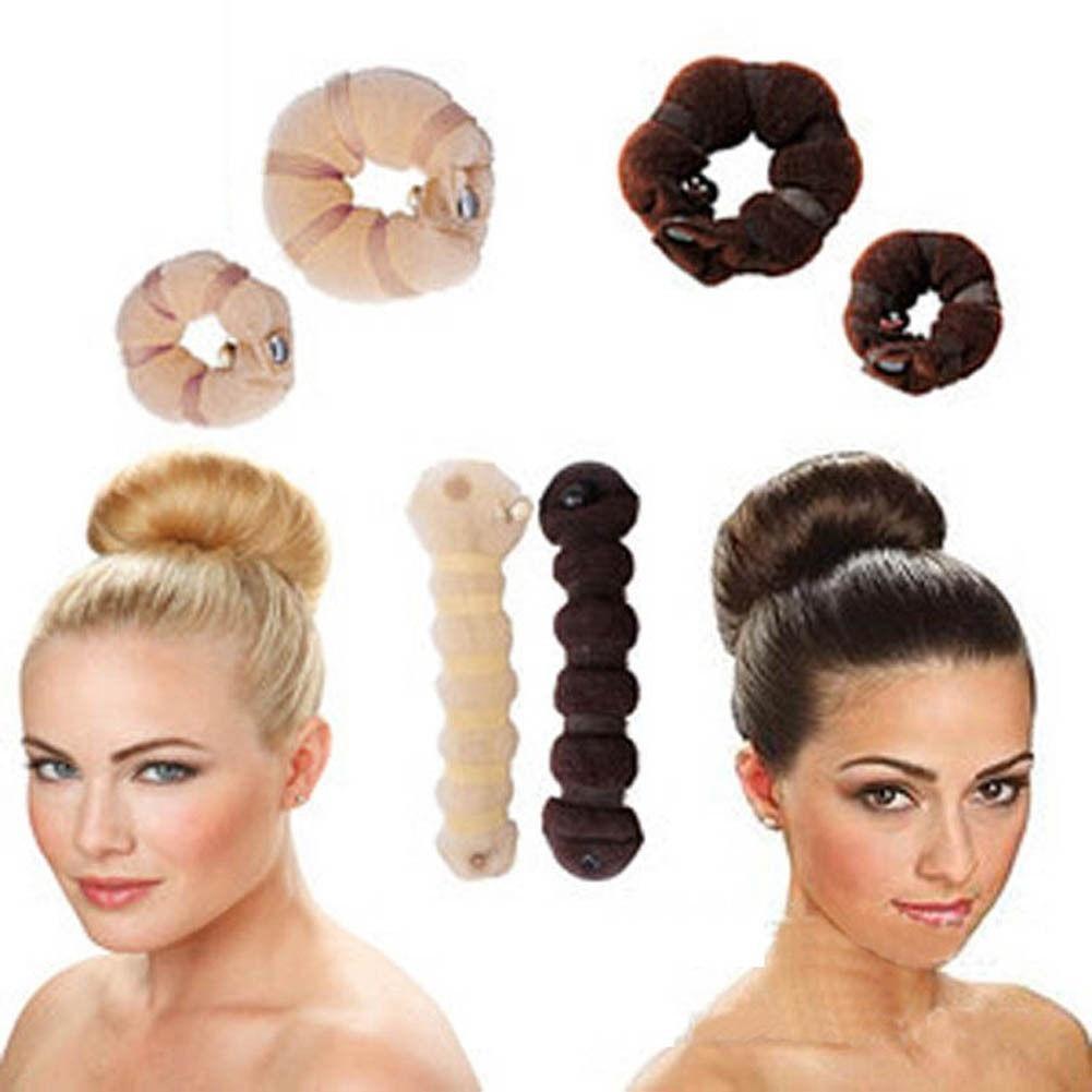 Причёски с заколкой петля