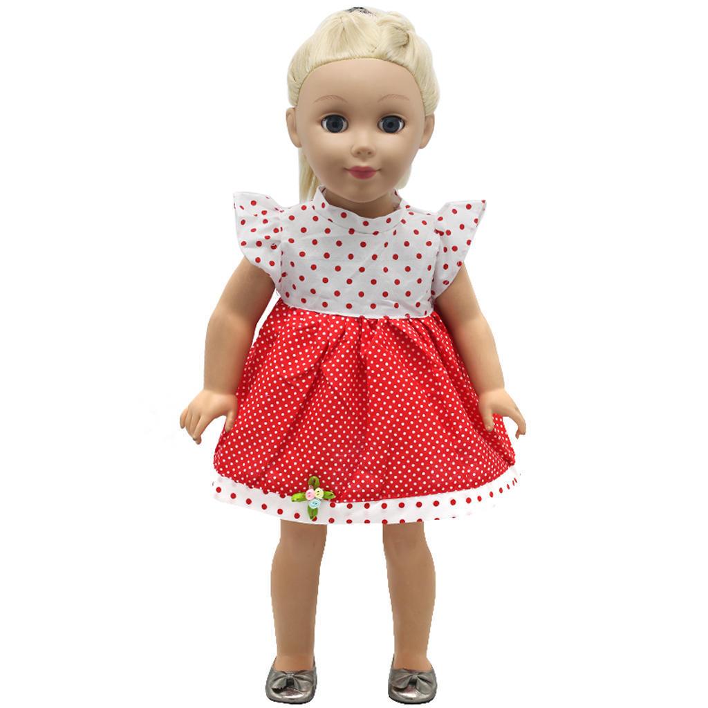 Платья для маленьких кукол