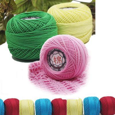 Нитки для вязания кружев крючком