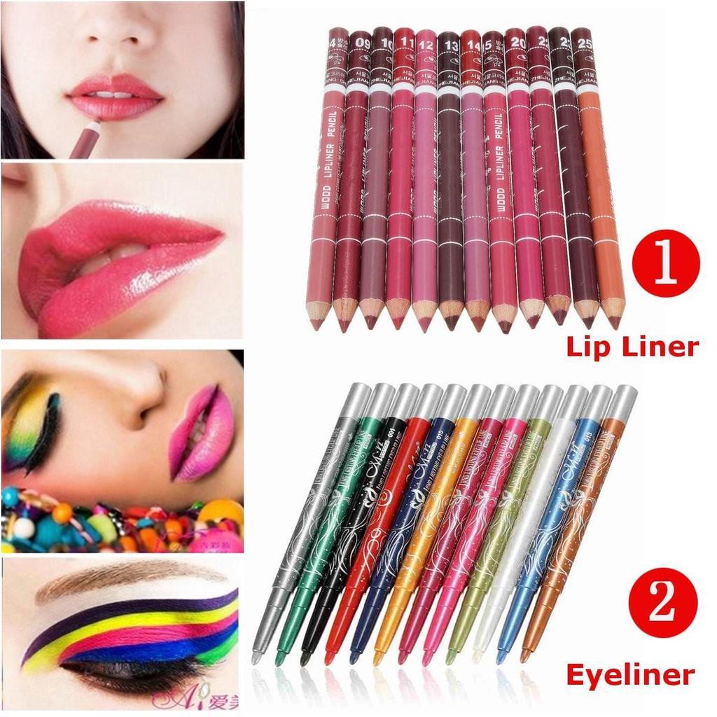 Как сделать макияж глаз цветными карандашами - m 26