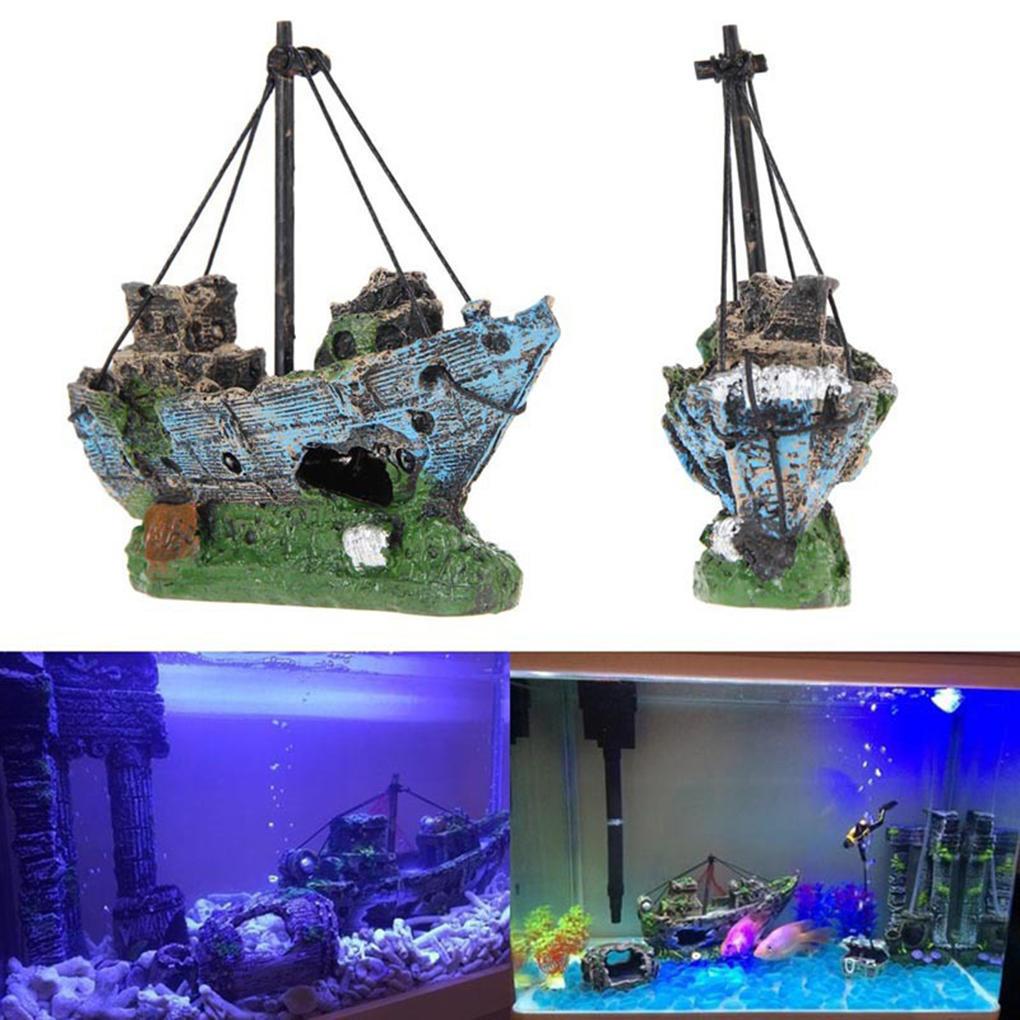 Корабль в аквариум своими руками