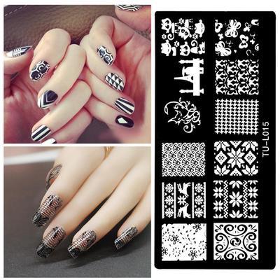 Как сделать шаблоны на ногти