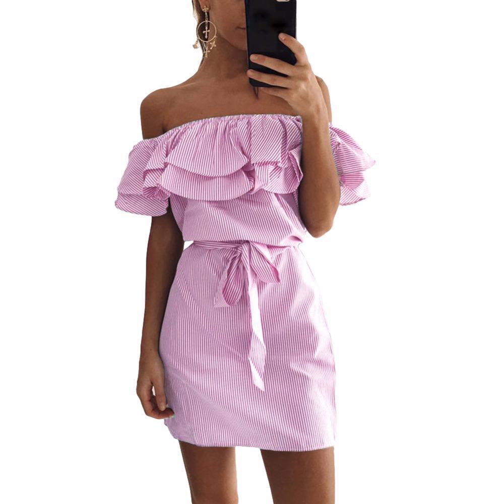 Платье своими руками с открытыми плечами на резинке