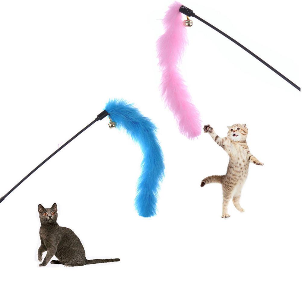 Игрушки своими руками для кошки перья