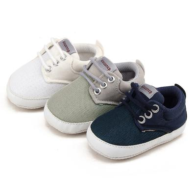 Baby Shoes Boys Girls Lace Up Prewalker