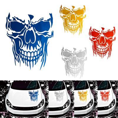 3M Graphics Hood Decal Vinyl Sticker Skull Car Auto Tailgate Window Bumper Decor