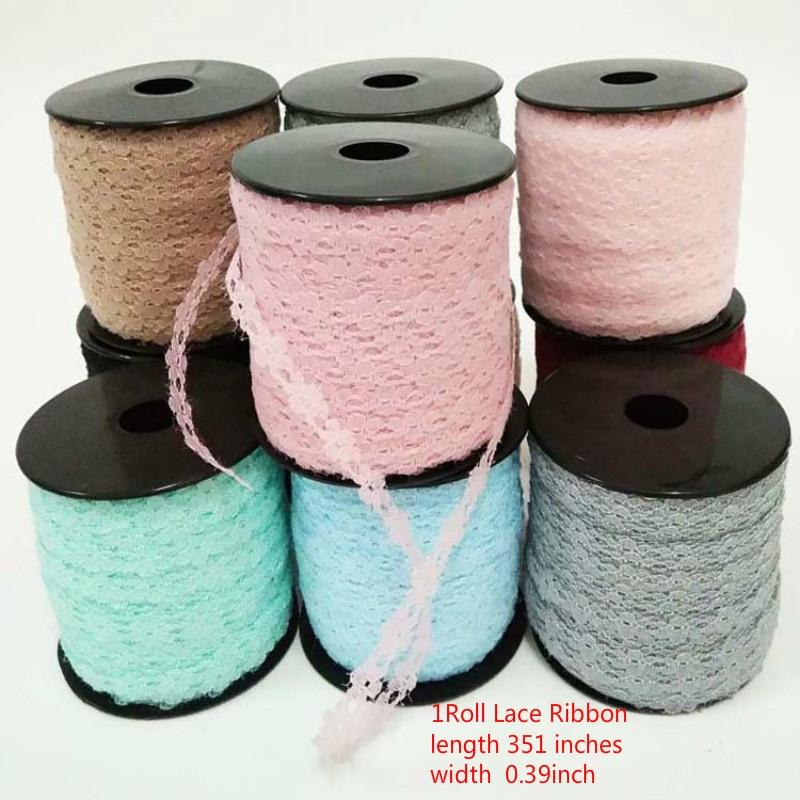 1 Rolls for DIY Craft Wedding Christmas Party Decoration Lace Ribbon Vintage Lace Trim