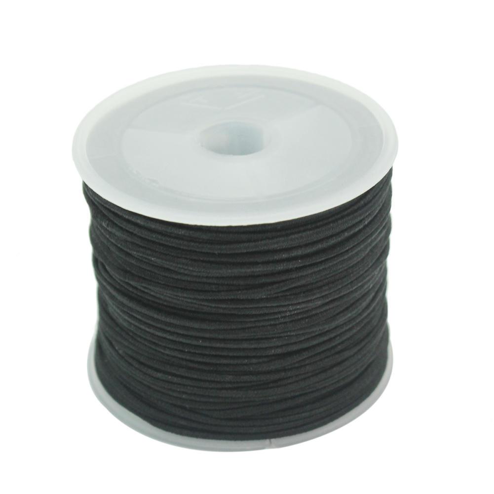 1 Rolle 1mm elastischer Schnur Thread Kabel Draht für Perlen Armband ...