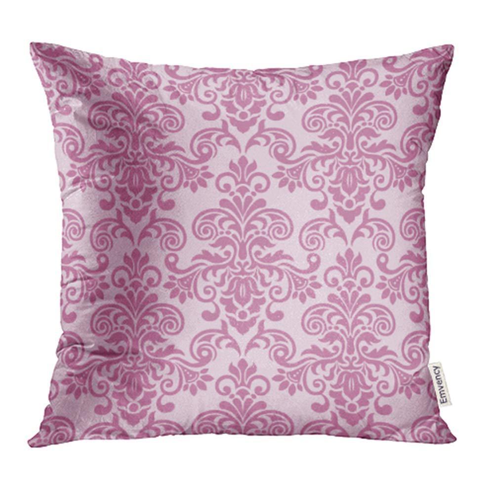 Pink Baroque Damask Purple Flower Vintage Elegant Lace Border Royal  Beautiful Pillowcase Cushion Case 20x20inch/50x50cm - buy from 16$ on Joom  e-commerce platform