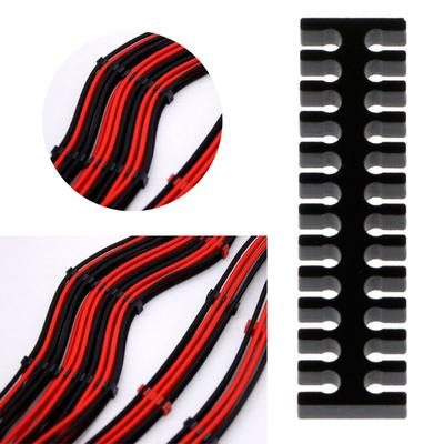 2pcs 1M 3.3Ft Black Red 1square Heatproof//Low Resistence Soft Silicon Wire Cable