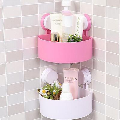Triángulo de succión drenaje baño caliente almacenamiento multifuncional de  Racks almacenamiento estante de esquina b1ef1f9be579