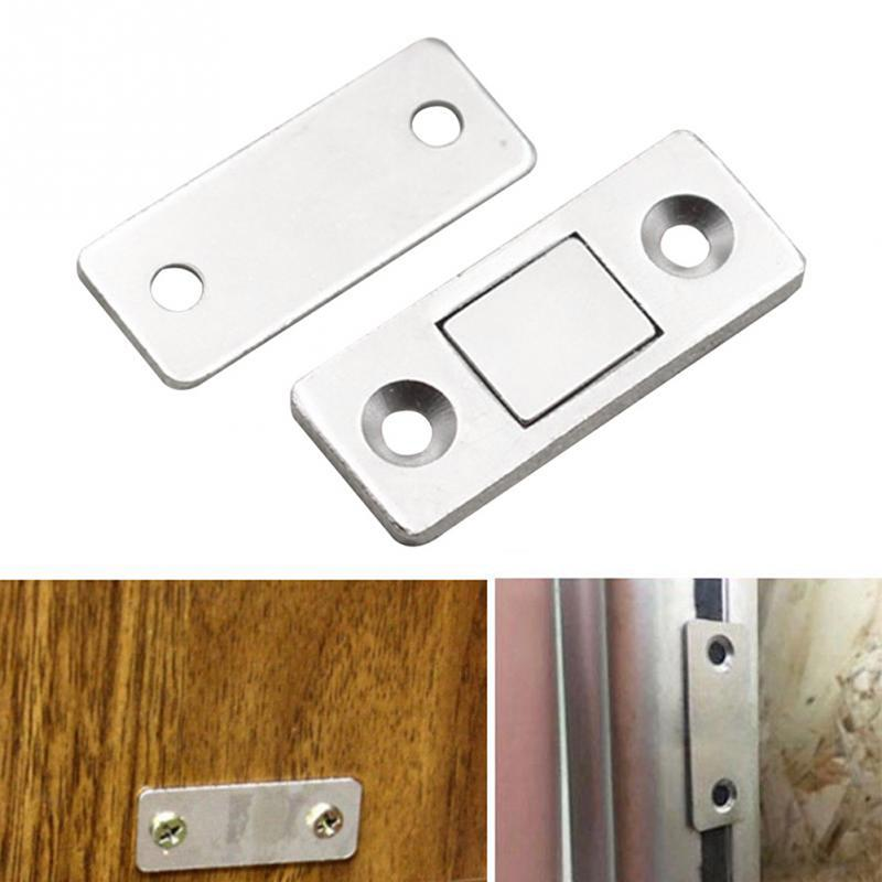 Door Stopper Cabinet Catches Stainless Steel Push to Open Touch Damper SS