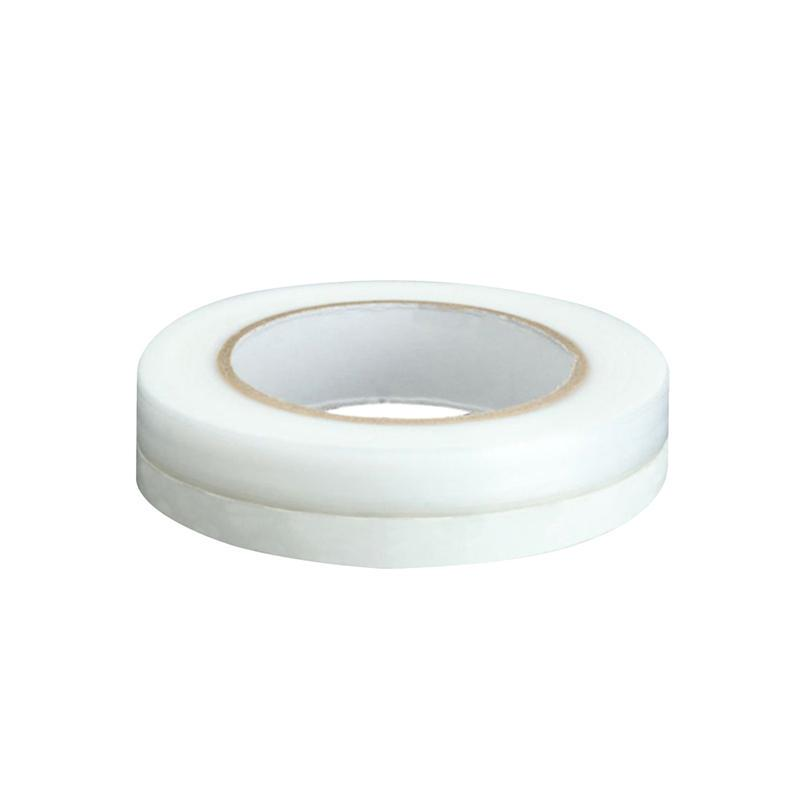 Weather Strip 45MM Doors Windows Seal Strip Soundproof Dustproof and Pest Control Self-Adhesive Silicone Tape Weather Stripping for Home Office Door Window 1 M-White