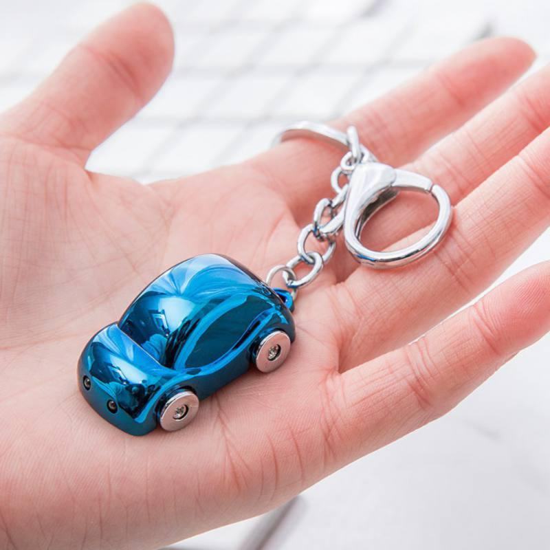 Metal Silver Plated Car Key Chain Ring Keyring Women/'s Bag Accessories Decor