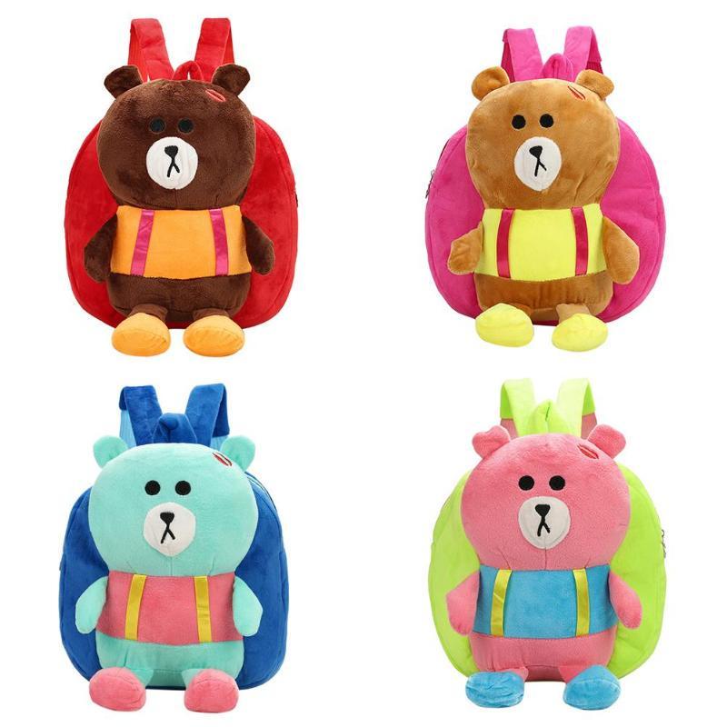 Generous Lovely Princess Plush Backpacks Cartoon Soft Kids School Bags Toys Animal Kindergarten Children Storage Doll Baby Bags Plush Backpacks Toys & Hobbies