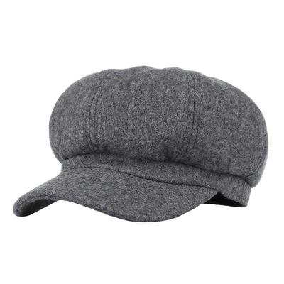 ... Men Newsboy Driving Flat Gatsby Cap Tweed Octagonal Beret Baker Cap Retor Plaid Ivy Hats. Buy · Women's Soft Warm Wool Classic Berets Felt French Artist ...