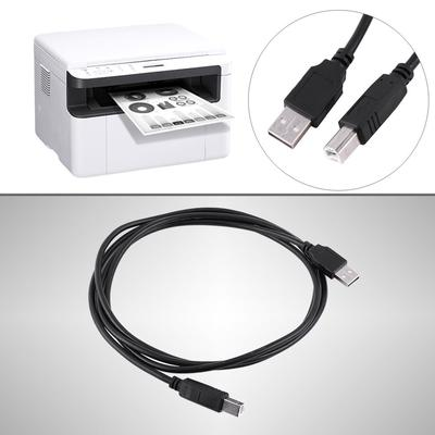 6Feet USB 2.0 High Speed Type A Male to Type B Male Printer Scanner Cable Cord