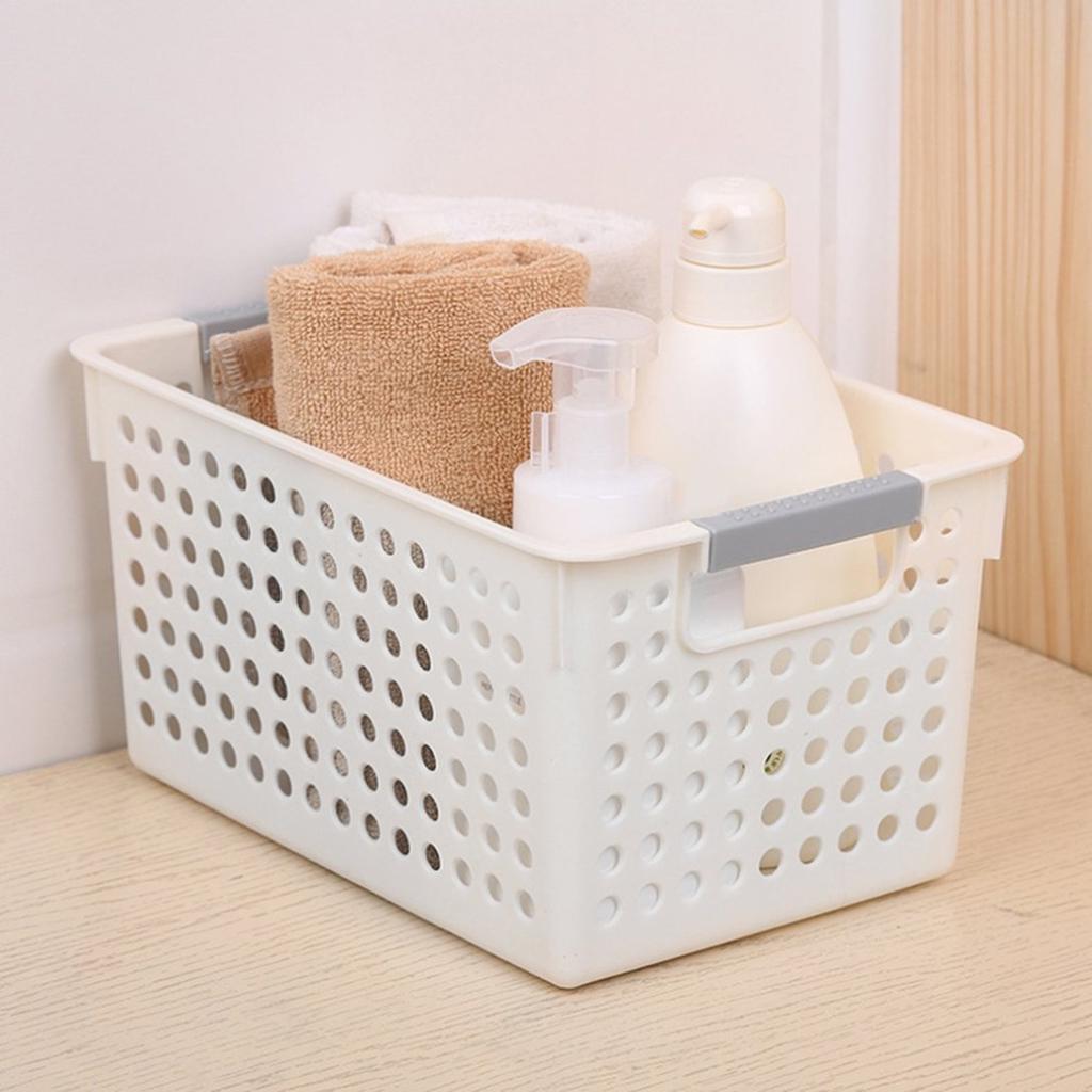 Küche Badezimmer Aufbewahrungsbox aus Kunststoff Korb Diverses schmal  20x20.20x20.20cm