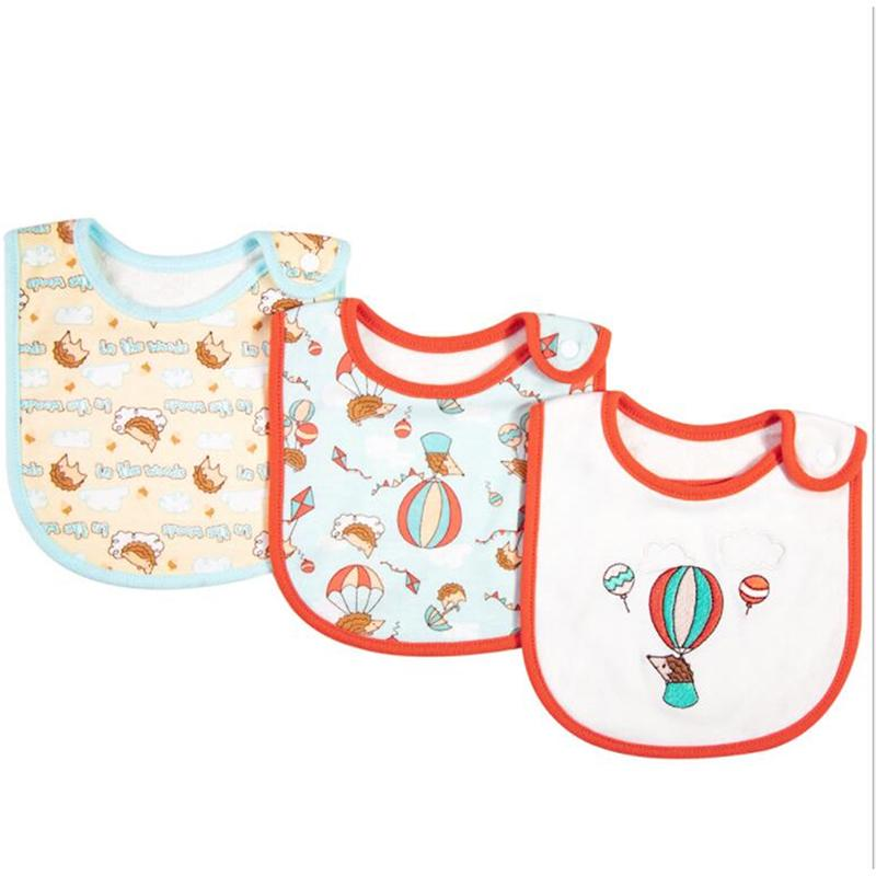 3Pcs//Set Baby Infant Feeding Triangle Foulard Bavoir Bandana salive serviette bavoir t