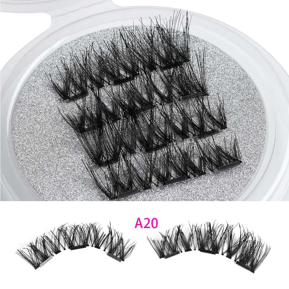 2769e4aa0db SK SKONHED 4 Pcs Long Cilia Glue-free False Eyelashes Extension ...
