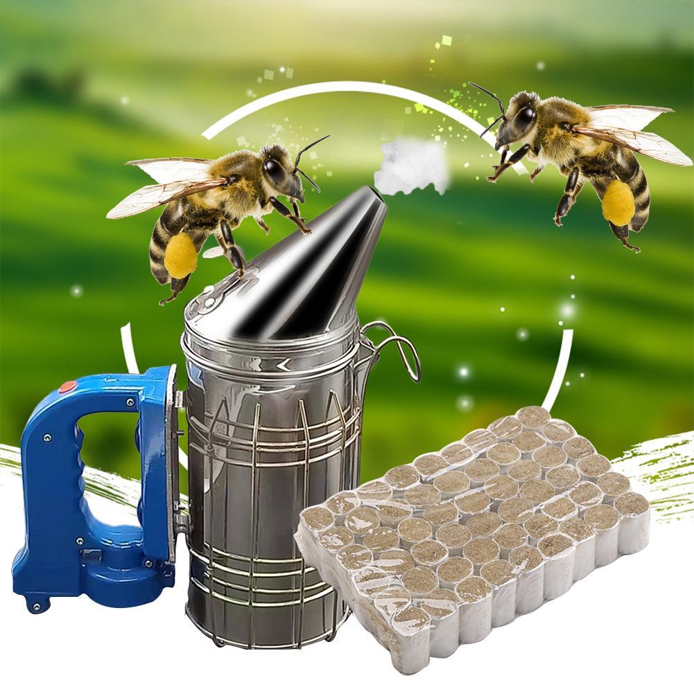 54pcs Beekeeping Bee Hive Smoker Smoke Honey made Fuel Chinese Medicinal Herb