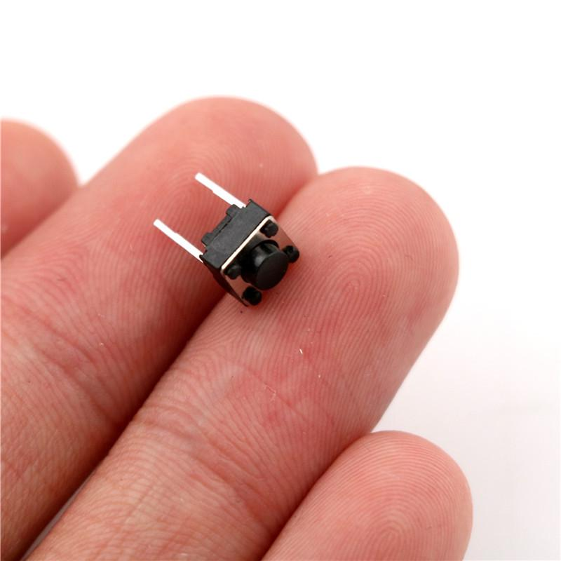 20Pcs Momentary Tactile Tact Push Button 2 Pin Switch DIP 6 x 6 x 5mm In JHIJH.j