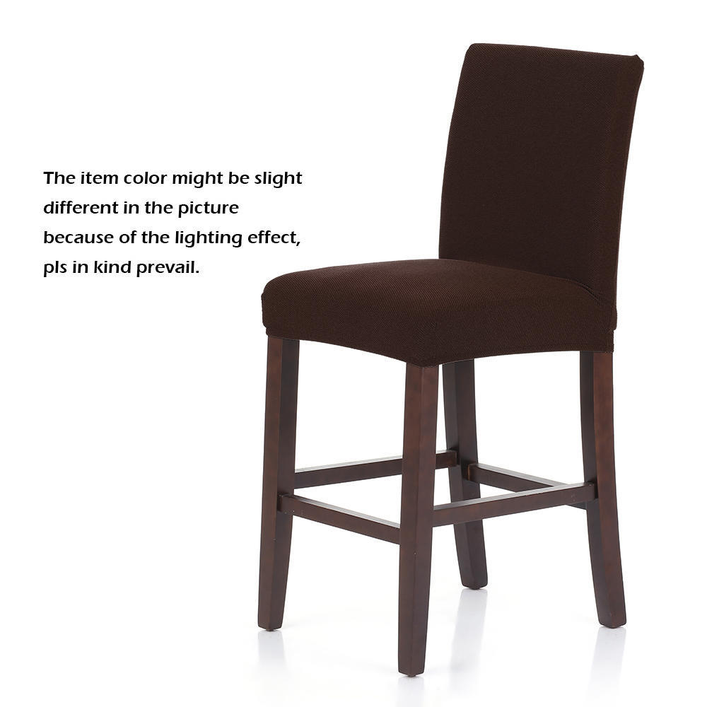 Stretch Spandex Stuhl Bezüge Abnehmbare Kissenhüllen Sitzbezug Esszimmer Dekor