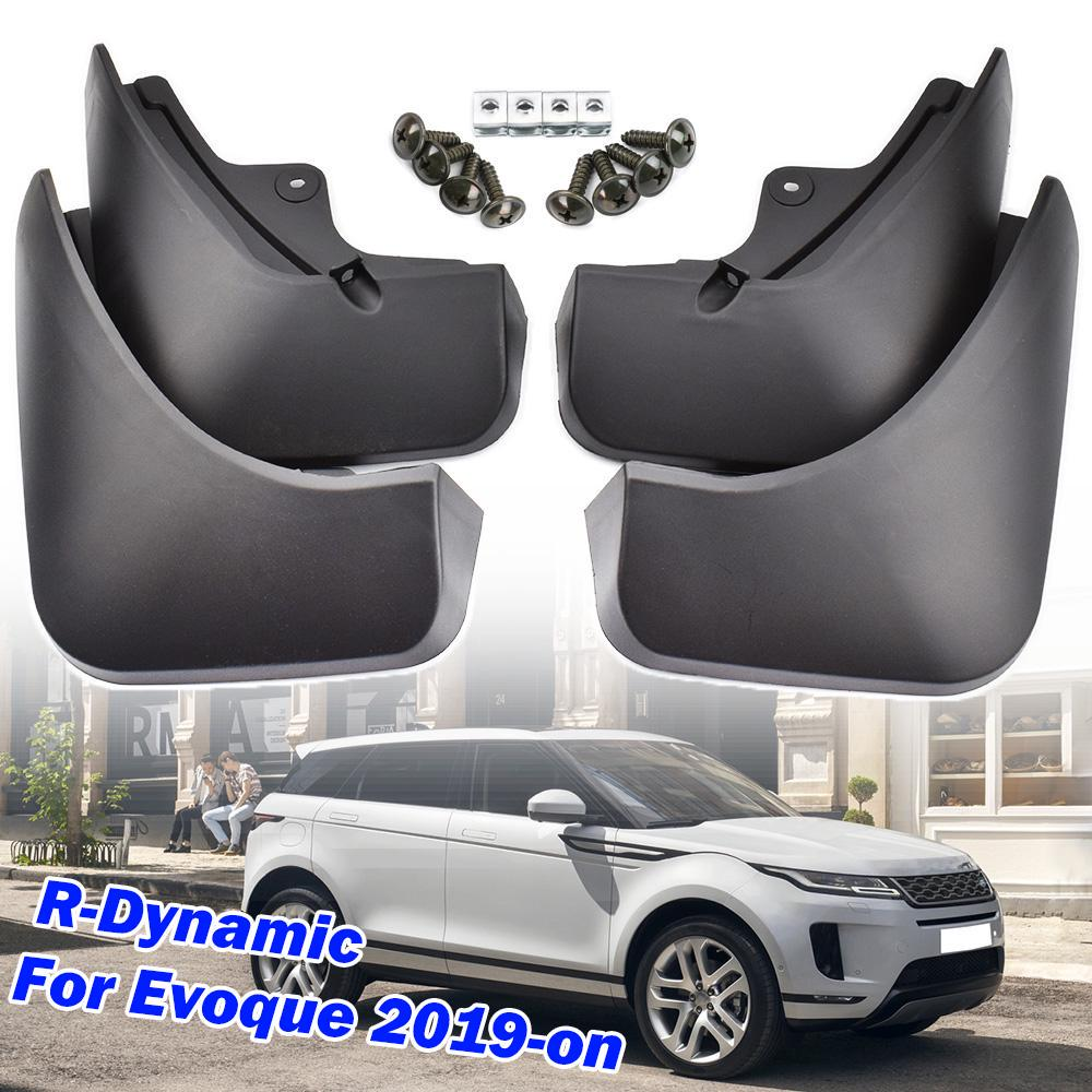 Brand New Landrover Range Rover Evoque Dynamic Mud Flaps Front and Rear Set