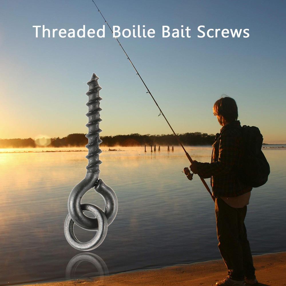 Pêche Appât Aiguille ligne Perceuse Tackle Rigging Outils Bouillette Carpe Poisson Accessoires