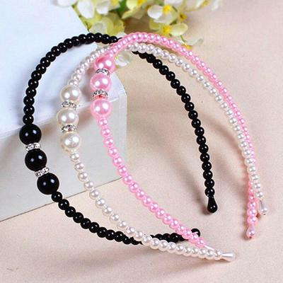 Qiuda 2 Yard /× 55 mm Pearl Bead 3D Floral Lace Ribbon for Crafts Wedding Dress Girls Kids Baby Headband Hair Band DIY Lace Ribbon Trim Edging Sewing Embroidery Flower Embellishment Apricot