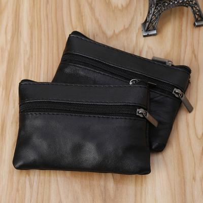 New Soft Men Women Card Coin Key Holder Zip Leather Wallet Pouch Bag Purse  Gift f704026083