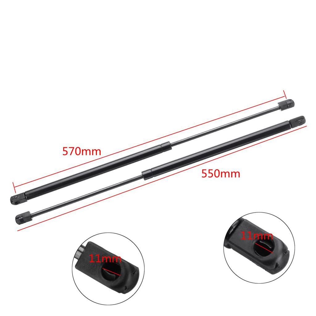 Pair Rear Tailgate Boot Gas Struts Support For Nissan Micra K11 Hatchback