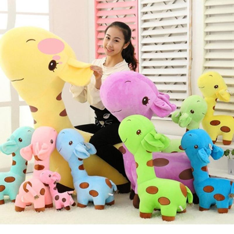 Kids Giraffe Dear Soft Plush Toy Little Baby Stuffed Animal Doll Birthday Gift