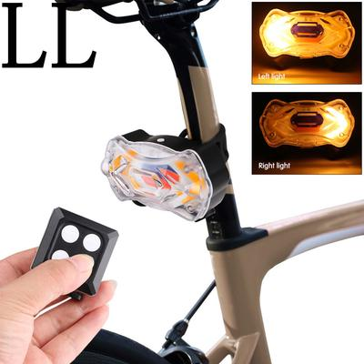 New Smark Bike Cycling Frog LED Front Head Rear Light Waterproof Lamp Yellow