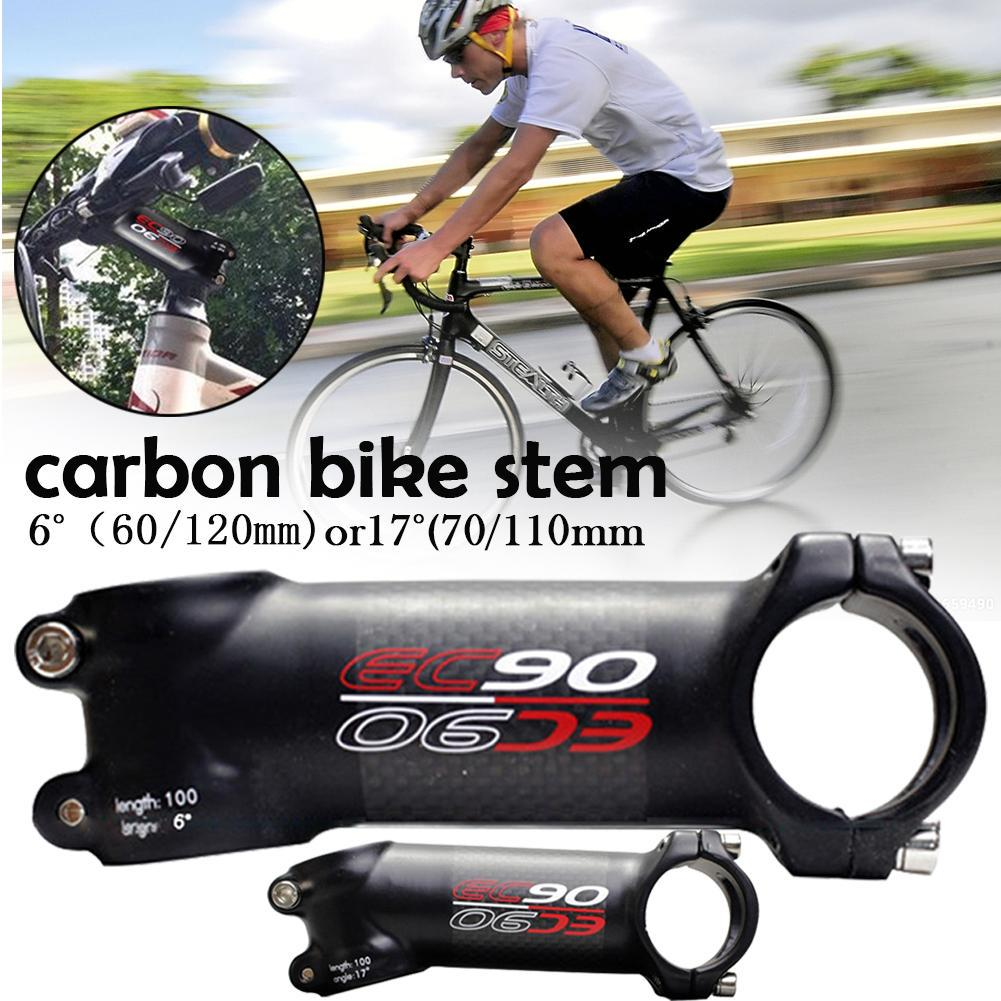 Carbon Fiber Bike Stem Carbon Fiber MTB Road Bike Stem 60mm-120mm