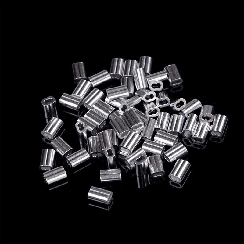 50 Stück 1,5 mm Kabel crimpen Aluminium Hülsen Kabelverschraubung ...