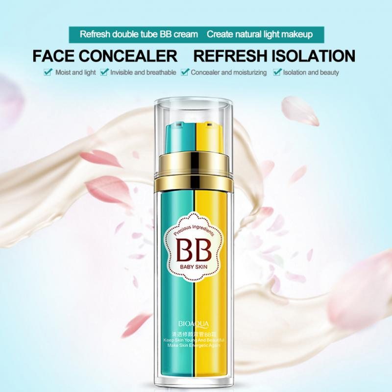 BIOAQUA 2 In 1 BB Cream Concealer Moisturizing Nourishing Nude Make-up Cream-buy at a low prices on Joom e-commerce platform