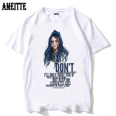 Men Women Clothes Camisetas Hombre Tops Harajuku T Shirt Billie Eilish Aesthetic Graphic Tees Gothic Buy At A Low Prices On Joom E Commerce Platform