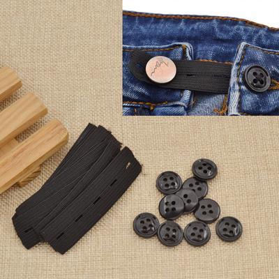 7d6655ae7 10 piezas pantalones pantalones cintura expansor pretina extensor  accesorios embarazada