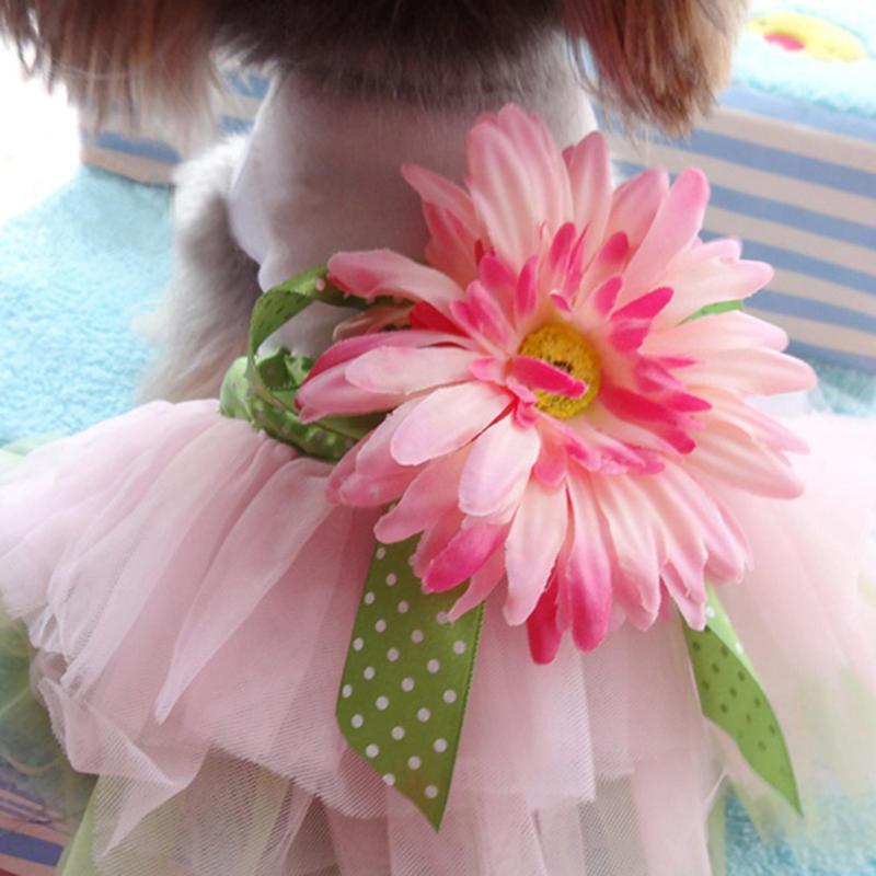 Perro gasa Tutu vestido falda mascota perro gato princesa ropa ...