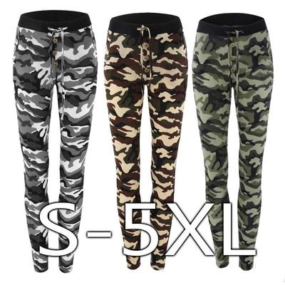 426221bc3ba9 Hot Women s Camouflage Skinny Leggings Stretch Slim Leggings Pencil Pants  Trousers JKL