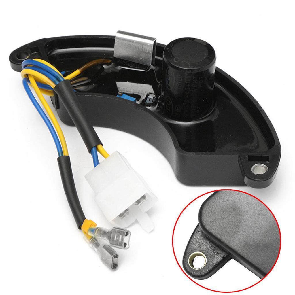 1pc schwarz AVR Benzin automatische Spannung Regler Einphasen ...