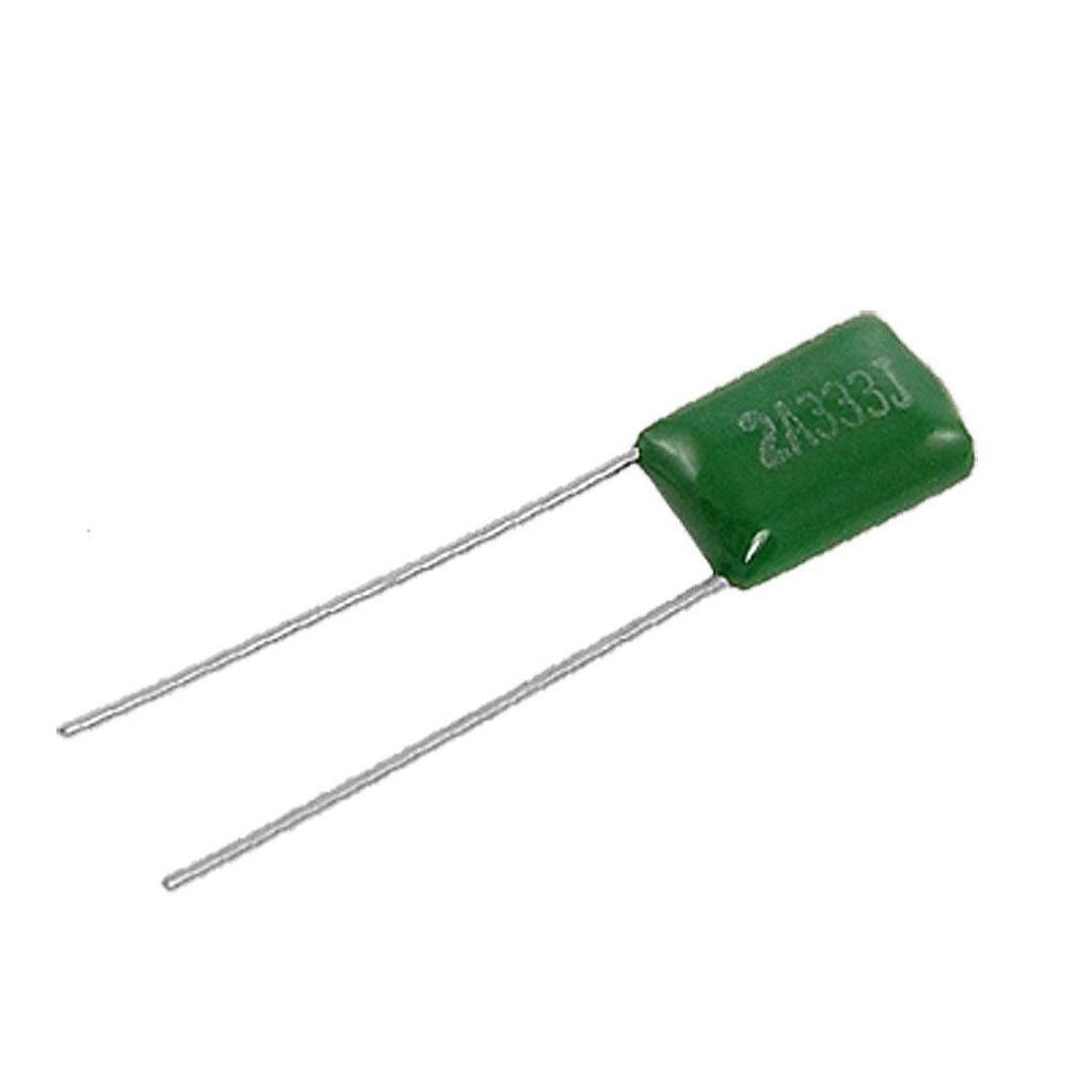 Condensador de poliéster Pack de 10 valores entre 1Nf y 68Nf clasificado 630 V