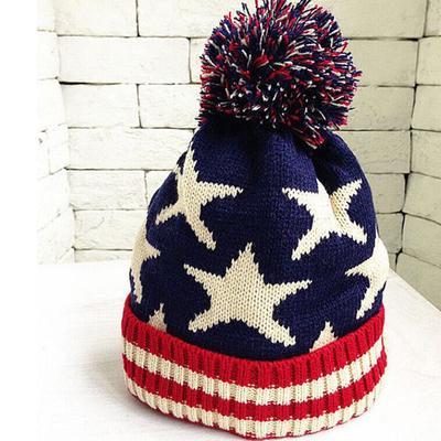 Niños niña niño bebé moda infantil invierno caliente ganchillo punto  sombrero tapa gorro d9dbcc7234b