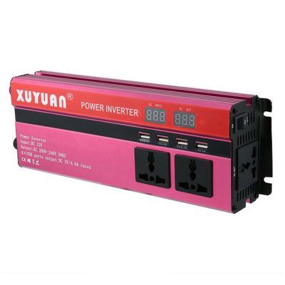 Car Power Inverter DC 12V to AC 220V-240V 500W Power Inverter Converter 2 USB Charging Pure Sine Wave