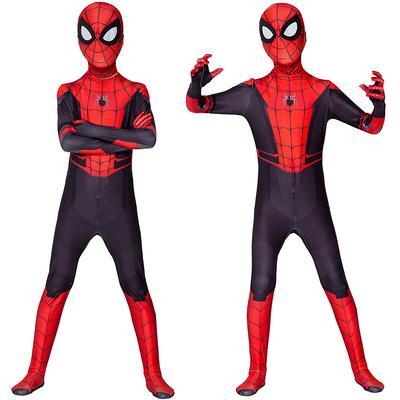 Spiderman Costume Superhero Cosplay Fancy Dress Halloween Masquerade Party 3-7Y