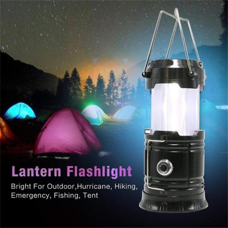 Portable Super Bright 11 LED Camping Tent Lantern Fishing Light Lamp Hiking foCR